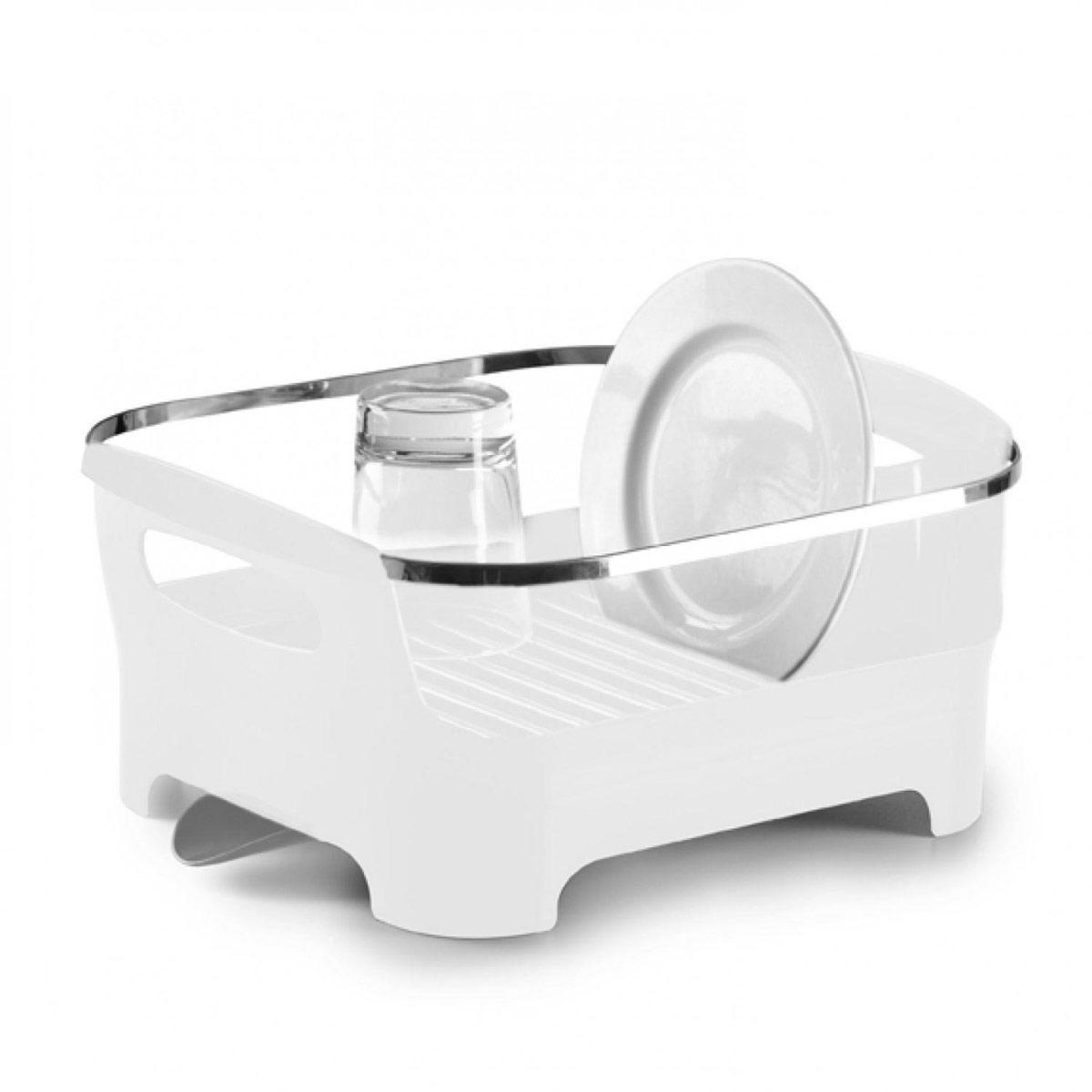 """Сушилка для посуды Umbra """"Basin"""", цвет: белый, 38 х 33 х 17 см"""