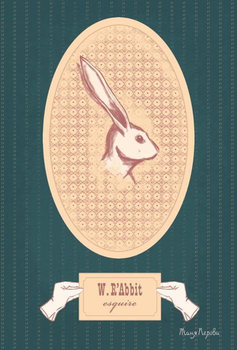 Открытка W. RAbbit, esquize. Автор Татьяна ПероваPT10-071Оригинальная дизайнерская открытка W. RAbbit, esquize выполнена из плотного матового картона. На лицевой стороне расположена репродукция картины художника Татьяны Перовой. На задней стороне имеется поле для записей. Такая открытка станет великолепным дополнением к подарку или оригинальным почтовым посланием, которое, несомненно, удивит получателя своим дизайном и подарит приятные воспоминания.