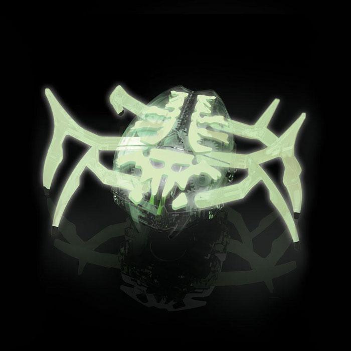 Микро-робот Hexbug Zombie Scarab477-3170Микро-робот Hexbug Zombie Scarab - высокоскоростной механический робот-жук, внешне похожий на скарабея, покрытый особой краской. Он лишен датчиков, способен быстро передвигаться на своих 6 лапах и самостоятельно переворачиваться в случае неудачного приземления на спину. Благодаря мощному моторчику, микро-робот способен толкать перед собой объекты, в несколько раз превышающие его собственные габариты. В случае столкновения с очень крупным предметом, робот-жук оттолкнется от него передними лапами и отпрыгнет, ища новый для себя путь. Главное отличие Hexbug Zombie Scarab от его собратьев - неповторимый окрас! Микро-робот светится в темноте, поэтому с ним можно играть даже в темное время суток. Hexbug Zombie Scarab работает от 3 батареек типа AG13 (входят в комплект). Гарантия: 15 дней.