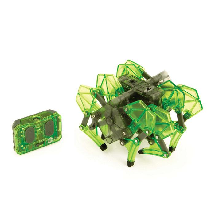 Микро-робот Hexbug Strandbeest, цвет: зелёный477-2825_2Микро-робот Hexbug Strandbeest - необычная, удивительной формы конструкция, имеющая 4 пары ног. Вдохновение на создание этого микро-робота пришло от голландского физика, а теперь художника Тео Янсена. Strandbeest управляется при помощи пульта. При нажатии правой кнопки, будут двигаться 4 правые ноги, при нажатии левой - 4 левые ноги. Благодаря такому строению, микро-робот способен плавно двигаться в любую сторону, а также совершать развороты на 360°. Микро-робот работает от 5 батареек типа AG13, три для Strandbeest, две для пульта управления (батарейки входят в комплект). Гарантия: 15 дней.