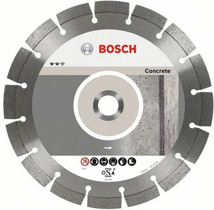Алмазный диск Bosch 180-22,23 по бетону 26086021992608602199Bosch Professional for Concrete 2608602199 - отрезной алмазный диск, подходящий для работ со многими типами бетона. Ширина реза диска - 2 мм, высота сегмента - 10 мм.