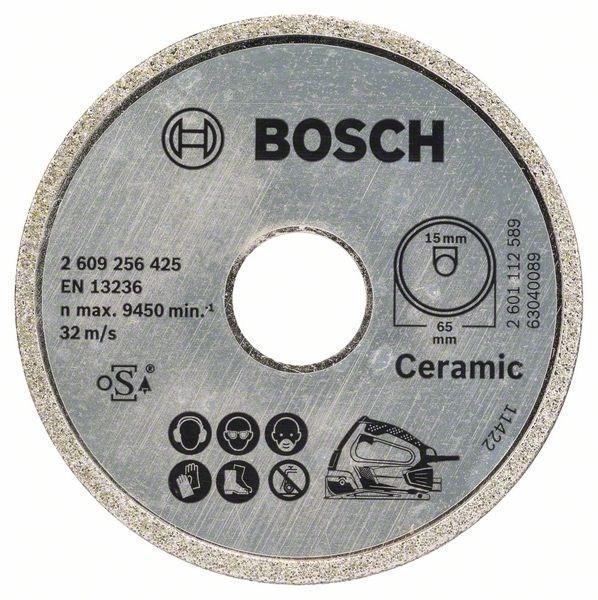 Алмазный диск Bosch 65x15мм для PKS 16 Multi 26092564252609256425Диск отрезной алмазный Bosch 2609256425 — это расходный материал, который окажется необходимым на любом производстве и стройке. Его отличительной чертой является повышенный срок службы. Он предназначен для распила искусственного и природного камня. С помощью инструментов Bosch вы сможете придать неповторимость своему дому, выполнить ремонтные и восстановительные работы. Во всей продукции Bosch применяются инновационные технологии для того, чтобы обеспечить максимальное удобство для пользователей. Инструменты Bosch — это оптимальное сочетание качества и надежности с простотой и удобством использования.