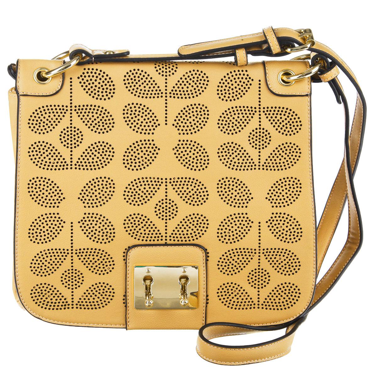 Сумка женская Orsa Oro, цвет: светло-желтый. D-827/64D-827/64Классическая сумка Orsa Oro выполнена из мягкой кожи и дополнена красивой итальянской фурнитурой. Внутри сумки одно отделение, три кармана, один из которых на пластиковой молнии. На задней стороне сумки вшит карман, закрывающийся на молнию. Сумка закрывается на большой перфорированный клапан и дополнительно на две металлические застежки-вертушки. Прилагается чехол для хранения. Сумка Orsa Oro - это стильный аксессуар, который подчеркнет вашу изысканность и индивидуальность, а также сделает ваш образ завершенным.