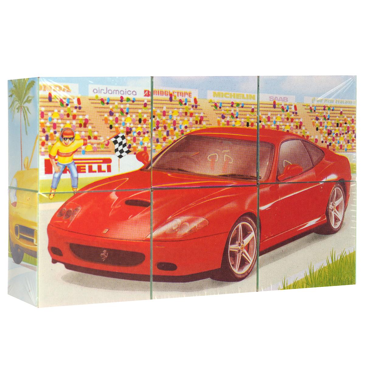 Кубики Stellar Модели автомобилей 2, в картинках, 6 шт. 0082100821С помощью кубиков Stellar Модели автомобилей 2 ребенок сможет собрать шесть великолепных картинок с изображением спортивных машинок. Игра с кубиками развивает зрительное восприятие, наблюдательность и внимание, мелкую моторику рук и произвольные движения. Ребенок научится складывать целостный образ из частей, определять недостающие детали изображения. Товар сертифицирован.