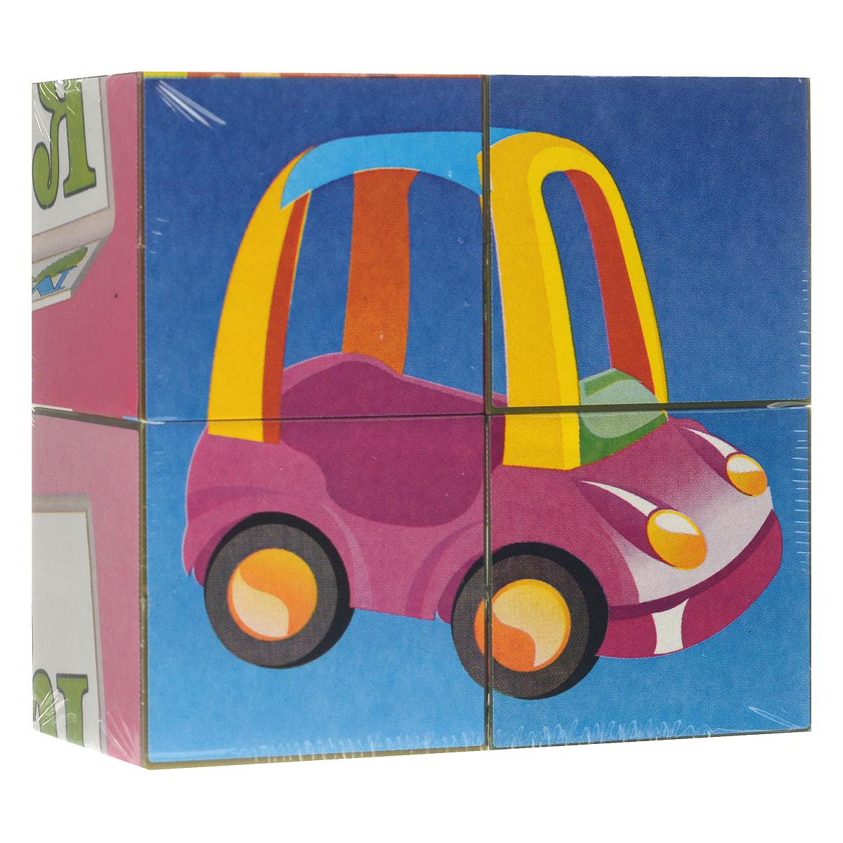 Кубики Stellar Игрушки, с картинками, 4 шт00834С помощью кубиков Stellar Игрушки ребенок сможет собрать шесть великолепных картинок с изображением игрушек. Игра с кубиками развивает зрительное восприятие, наблюдательность и внимание, мелкую моторику рук и произвольные движения. Ребенок научится складывать целостный образ из частей, определять недостающие детали изображения. Товар сертифицирован.