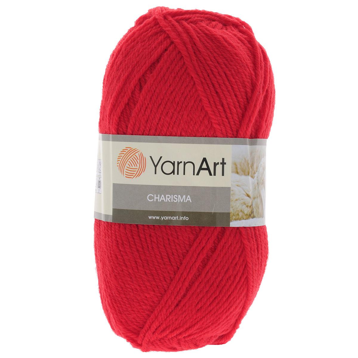 Пряжа для вязания YarnArt Charisma, цвет: красный (156), 200 м, 100 г, 5 шт372032_156Пряжа для вязания YarnArt Charisma изготовлена из шерсти и акрила. Эта полушерстяная классическая пряжа подходит для ручного вязания. Нить мягкая, плотной скрутки, послушная, не расслаивается, не тянется, легко распускается и не деформируется. Благодаря преобладанию шерсти в составе пряжи, изделия получаются очень теплыми, а небольшой процент акрила придает практичности, поэтому вещи из этой пряжи не деформируются после стирки и в процессе носки. Пряжа YarnArt Charisma — однотонной окраски с небольшим матовым эффектом. Ей можно оригинально декорировать вязаные из другой пряжи изделия. Пряжа окрашена стойкими качественными красителями, не линяет. Рекомендуются спицы 4 мм, крючок 5 мм. Состав: 80% шерсть, 20% акрил.
