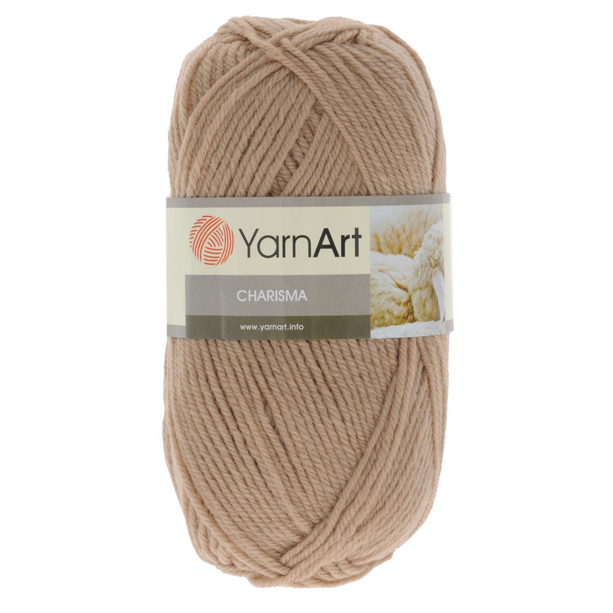 Пряжа для вязания YarnArt Charisma, цвет: бежевый (511), 200 м, 100 г, 5 шт372032_511Пряжа для вязания YarnArt Charisma изготовлена из шерсти и акрила. Эта полушерстяная классическая пряжа подходит для ручного вязания. Нить мягкая, плотной скрутки, послушная, не расслаивается, не тянется, легко распускается и не деформируется. Благодаря преобладанию шерсти в составе пряжи, изделия получаются очень теплыми, а небольшой процент акрила придает практичности, поэтому вещи из этой пряжи не деформируются после стирки и в процессе носки. Пряжа YarnArt Charisma — однотонной окраски с небольшим матовым эффектом. Ей можно оригинально декорировать вязаные из другой пряжи изделия. Пряжа окрашена стойкими качественными красителями, не линяет. Рекомендуются спицы 4 мм, крючок 5 мм. Состав: 80% шерсть, 20% акрил.