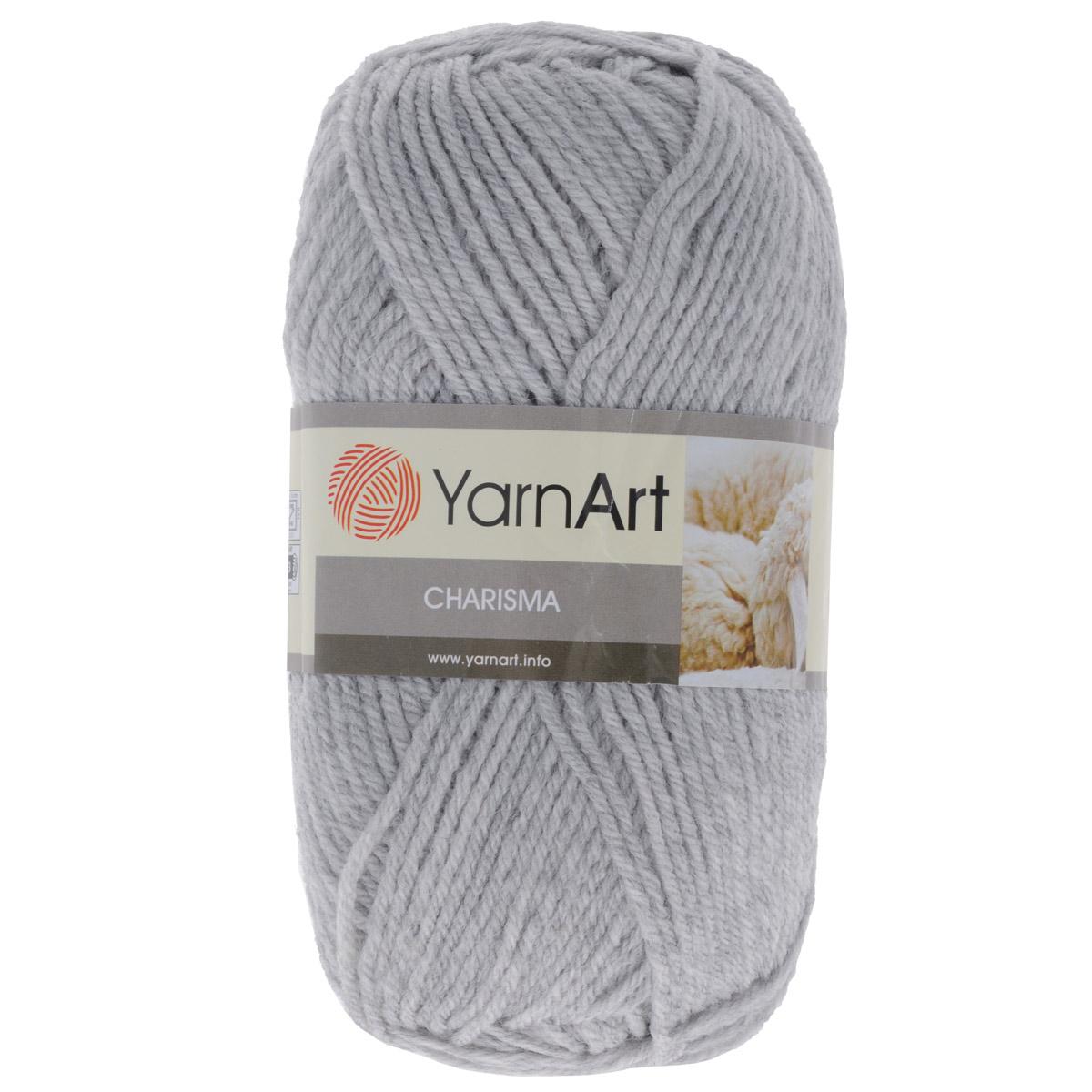 Пряжа для вязания YarnArt Charisma, цвет: светло-серый (0282), 200 м, 100 г, 5 шт372032_0282Пряжа для вязания YarnArt Charisma изготовлена из шерсти и акрила. Эта полушерстяная классическая пряжа подходит для ручного вязания. Нить мягкая, плотной скрутки, послушная, не расслаивается, не тянется, легко распускается и не деформируется. Благодаря преобладанию шерсти в составе пряжи, изделия получаются очень теплыми, а небольшой процент акрила придает практичности, поэтому вещи из этой пряжи не деформируются после стирки и в процессе носки. Пряжа YarnArt Charisma — однотонной окраски с небольшим матовым эффектом. Ей можно оригинально декорировать вязаные из другой пряжи изделия. Пряжа окрашена стойкими качественными красителями, не линяет. Рекомендуются спицы 4 мм, крючок 5 мм. Состав: 80% шерсть, 20% акрил.