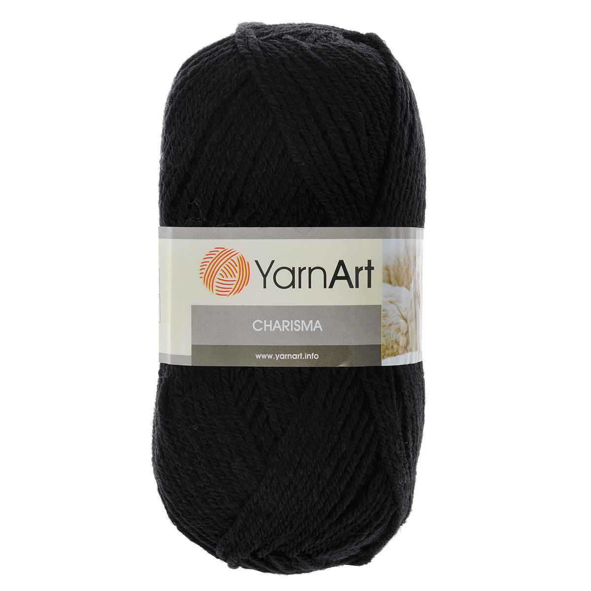 Пряжа для вязания YarnArt Charisma, цвет: черный (585), 200 м, 100 г, 5 шт372032_585Пряжа для вязания YarnArt Charisma изготовлена из шерсти и акрила. Эта полушерстяная классическая пряжа подходит для ручного вязания. Нить мягкая, плотной скрутки, послушная, не расслаивается, не тянется, легко распускается и не деформируется. Благодаря преобладанию шерсти в составе пряжи, изделия получаются очень теплыми, а небольшой процент акрила придает практичности, поэтому вещи из этой пряжи не деформируются после стирки и в процессе носки. Пряжа YarnArt Charisma — однотонной окраски с небольшим матовым эффектом. Ей можно оригинально декорировать вязаные из другой пряжи изделия. Пряжа окрашена стойкими качественными красителями, не линяет. Рекомендуются спицы 4 мм, крючок 5 мм. Состав: 80% шерсть, 20% акрил.