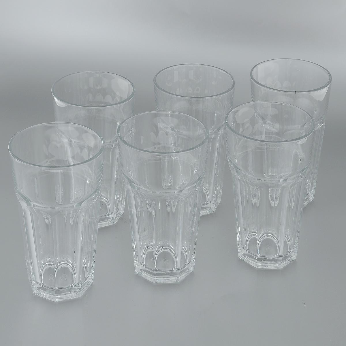 Набор стаканов для пива Pasabahce Casablanca, 475 мл, 6 шт52707BНабор Pasabahce Casablanca состоит из шести стаканов, изготовленных из прочного натрий-кальций-силикатного стекла. Изделия, предназначенные для подачи пива, несомненно придутся вам по душе. Стаканы, оснащенные рельефной многогранной поверхностью, сочетают в себе элегантный дизайн и функциональность. Благодаря такому набору пить напитки будет еще вкуснее. Набор стаканов Pasabahce Casablanca идеально подойдет для сервировки стола и станет отличным подарком к любому празднику. Можно мыть в посудомоечной машине и использовать в микроволновой печи. Диаметр стакана по верхнему краю: 8,5 см. Высота стакана: 16 см.