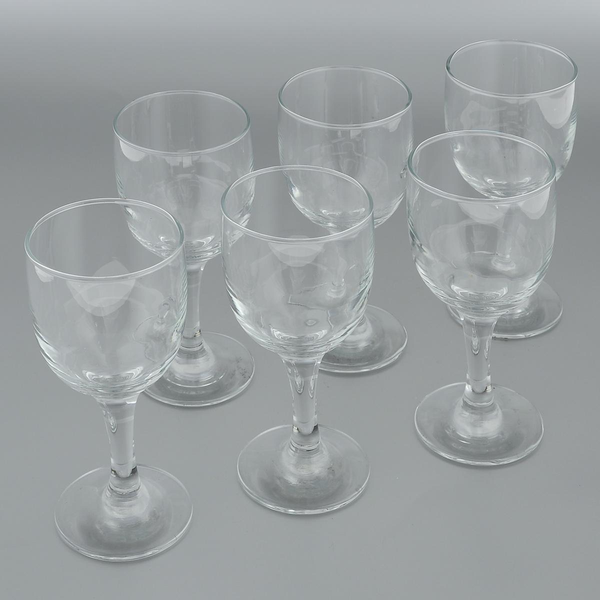 Набор бокалов для белого вина Pasabahce Royal, 240 мл, 6 шт44353BНабор Pasabahce Royal состоит из шести бокалов, изготовленных из прочного натрий-кальций-силикатного стекла. Изделия, предназначенные для подачи белого вина, несомненно придутся вам по душе. Бокалы сочетают в себе элегантный дизайн и функциональность. Благодаря такому набору пить напитки будет еще вкуснее. Набор бокалов Pasabahce Royal идеально подойдет для сервировки стола и станет отличным подарком к любому празднику. Можно мыть в посудомоечной машине и использовать в микроволновой печи. Диаметр бокала по верхнему краю: 7 см. Высота бокала: 17 см.
