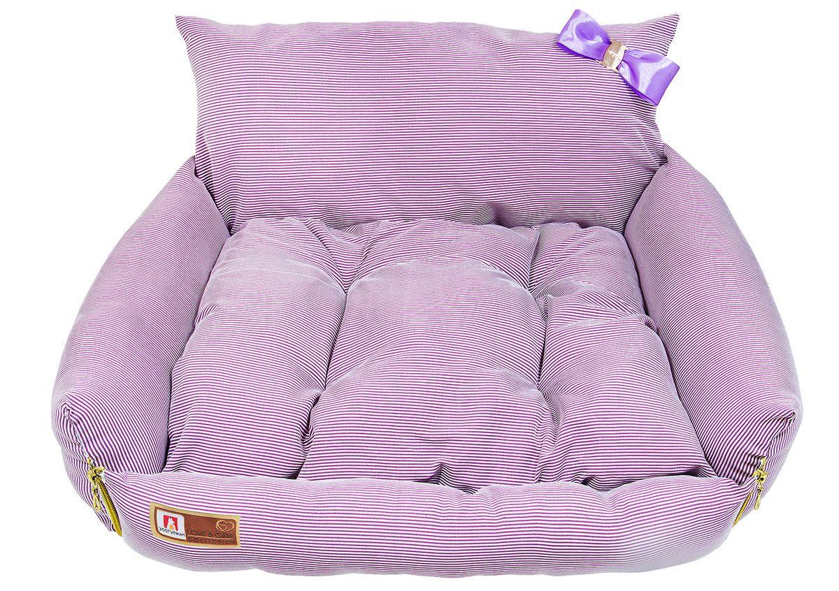 Лежак для собак и кошек Зоогурман Жемчужина, цвет: розовый, 40 см х 45 см х 40 см1925Оригинальный и мягкий лежак для кошек и собак Зоогурман Жемчужина обязательно понравится вашему питомцу. Лежак выполнен из приятного материала. Внутри - мягкий наполнитель, который не теряет своей формы долгое время. Внутри лежака мягкий съемный матрасик. Спинка лежака украшена небольшим бантиком. За изделием легко ухаживать, можно стирать вручную или в стиральной машине при температуре 40°С. Материал: вельветовая, микроволоконная ткань. Наполнитель: гипоаллергенное синтетическое волокно. Наполнитель матрасика: шерсть. Размер: 40 см х 45 см х 40 см.