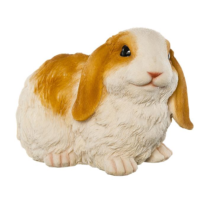 Фигура декоративная Village People Рыжеухий кролик, высота 14 см67008Декоративная фигурка Village People Рыжеухий кролик изготовлена из полирезины. Материал устойчив к воздействиям внешней среды, таким, как влажность, солнце, перепады температуры. Фигурка выполнена в виде кролика. Она отлично подойдет для декоративного оформления вашего сада и огорода. Декоративные садовые фигурки представляют собой последний штрих при создании ландшафтного дизайна дачного или приусадебного участка. Декоративные фигурки для украшения сада позволяют создать правдоподобную декорацию и почувствовать себя среди живой природы. Кроме этого, веселые и незатейливые, они поднимут настроение вам, вашим друзьям и родным. Размер: 19,5 см х 11,5 см х 14 см.