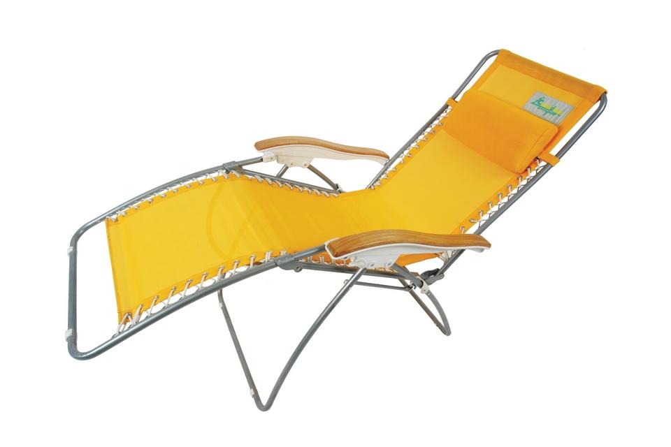 Шезлонг Canadian Camper CC-68011, цвет: желтый, 53 см х 53 см х 51/114 см31100035Шезлонг Canadian Camper CC-68011 прекрасно подходит для отдыха за городом, на природе. Каркас изделия выполнен из алюминия. Материал кресла - специальный полиэстер HD TEXTILENE, его сетчатая структура устойчива к ультрафиолетовому излучению. Также этот материал почти не впитывает влагу и моментально сохнет, что обеспечит максимальный комфорт даже в летнюю жару. Подлокотники шезлонга изготовлены из натурального дерева, что не только придает ему шарм, но и обеспечивает приятные тактильные ощущения. Регулируемая по высоте подушка-подголовник кресла и запатентованная система наклона спинки позволит подобрать наиболее удобное для вас положение. Шезлонг выдерживает вес до 120 кг! Максимальная нагрузка: 120 кг. Размер шезлонга (в разобранном виде): 53 см х 53 см х 51/114 см.
