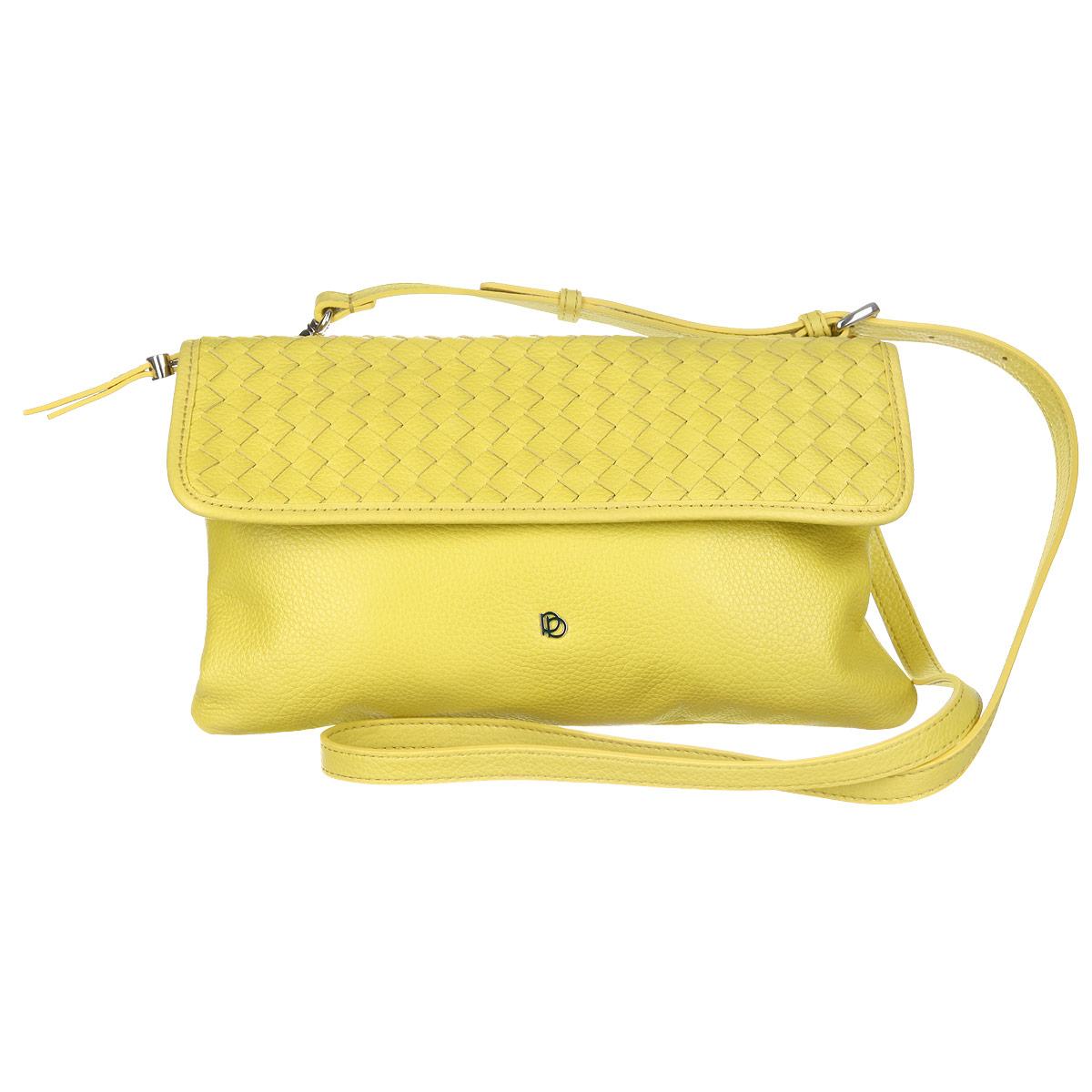 Сумка женская Pimobetti, цвет: желтый. 13832B-W113832B-W1_желтыйСумка женская Pimobetti выполнена из натуральной кожи, украшена металлической накладкой с логотипом бренда. Сумка с одним отделением, закрывающимся на молнию. Внутри один карман на молнии и два кармашка для мелочей. На задней поверхности сумки один врезной карман на молнии. Сумка снабжена съемным ремнем. Ремень крепится по бокам сумки с помощью карабинов, длина регулируется пряжкой.