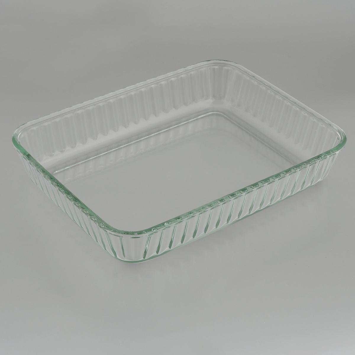 Форма для запекания Mijotex, прямоугольная, 30 х 23 смPL25Прямоугольная форма для запекания Mijotex изготовлена из жаропрочного стекла, которое выдерживает температуру до +450°С. Форма предназначена для приготовления горячих блюд. Материал изделия гигиеничен, прост в уходе и обладает высокой степенью прочности. Форма идеально подходит для использования в духовках, микроволновых печах, холодильниках и морозильных камерах. Также ее можно использовать на газовых плитах (на слабом огне) и на электроплитах. Можно мыть в посудомоечной машине. Размер формы (по верхнему краю): 30 см х 23 см. Высота стенки формы: 6 см.