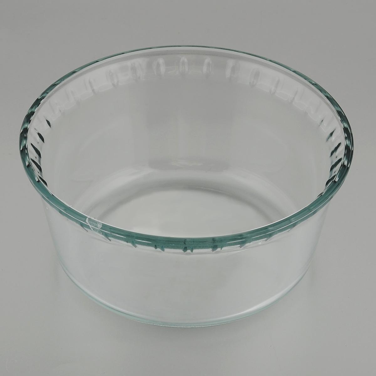 Форма для запекания Mijotex, круглая, диаметр 17 смPL21Глубокая круглая форма для запекания Mijotex изготовлена из жаропрочного стекла, которое выдерживает температуру до +450°С. Форма предназначена для приготовления горячих блюд. Материал изделия гигиеничен, прост в уходе и обладает высокой степенью прочности. Форма идеально подходит для использования в духовках, микроволновых печах, холодильниках и морозильных камерах. Также ее можно использовать на газовых плитах (на слабом огне) и на электроплитах. Можно мыть в посудомоечной машине. Диаметр формы: 17 см. Высота стенки формы: 8 см.