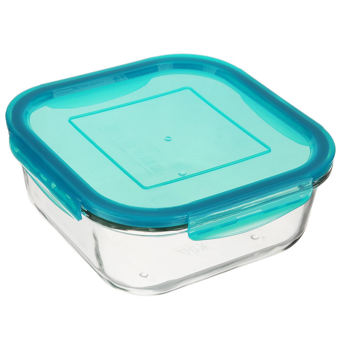 Форма для запекания Mijotex с крышкой, квадратная, цвет: голубой, 18 х 18 смLSQ10CКвадратная форма для запекания Mijotex изготовлена из жаропрочного стекла, которое выдерживает температуру до +450°С. Форма предназначена для приготовления горячих блюд. Оснащена герметичной пластиковой крышкой с силиконовым уплотнителем для хранения продуктов. Материал изделия гигиеничен, прост в уходе и обладает высокой степенью прочности. Форма (без крышки) идеально подходит для использования в духовках, микроволновых печах, холодильниках и морозильных камерах. Также ее можно использовать на газовых плитах (на слабом огне) и на электроплитах. Можно мыть в посудомоечной машине. Размер формы (по верхнему краю): 18 см х 18 см. Высота стенки формы: 7 см.
