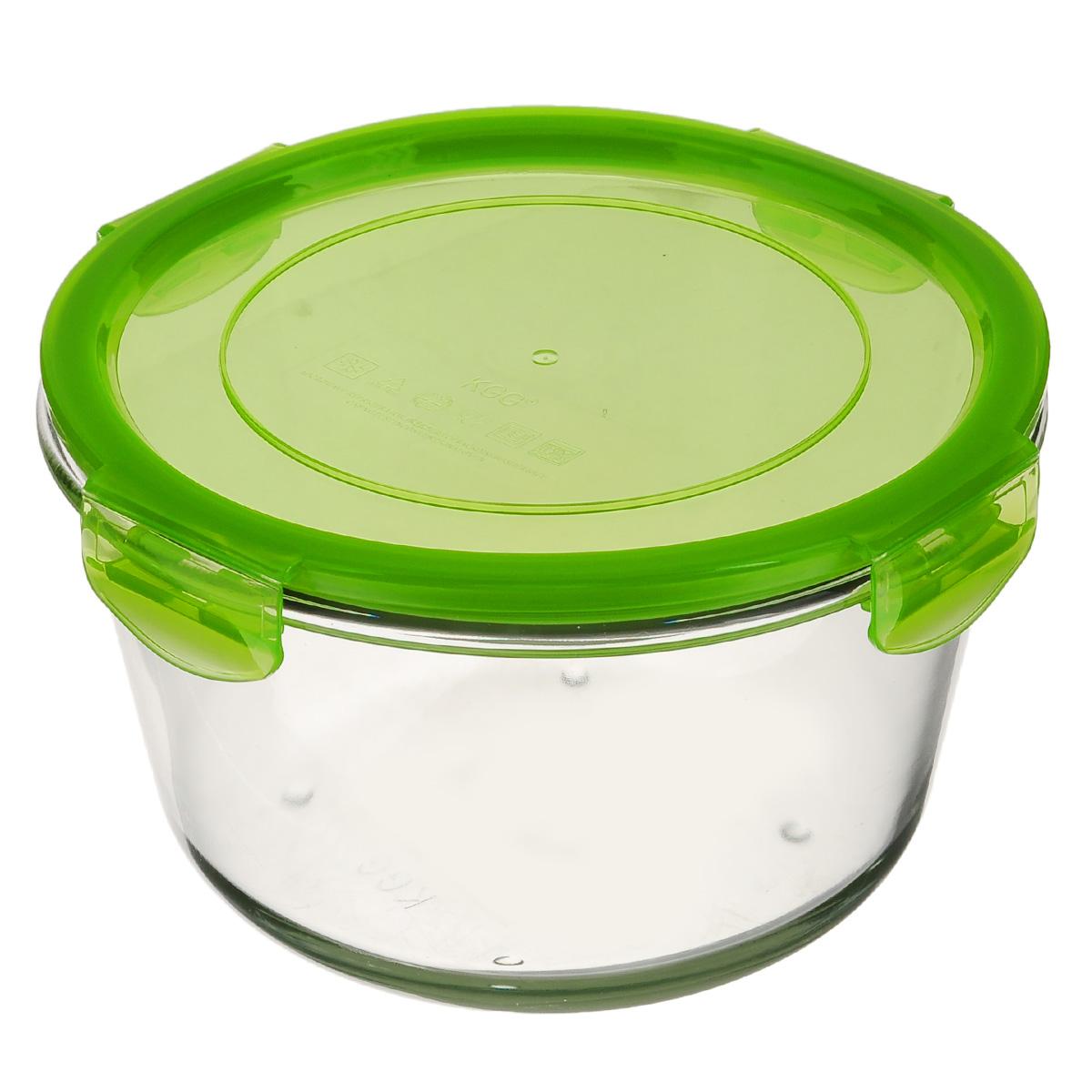 Форма для запекания Mijotex с крышкой, круглая, цвет: зеленый, диаметр 18 смLRD4CКруглая форма для запекания Mijotex изготовлена из жаропрочного стекла, которое выдерживает температуру до +450°С. Форма предназначена для приготовления горячих блюд. Оснащена герметичной пластиковой крышкой с силиконовым уплотнителем для хранения продуктов. Материал изделия гигиеничен, прост в уходе и обладает высокой степенью прочности. Форма (без крышки) идеально подходит для использования в духовках, микроволновых печах, холодильниках и морозильных камерах. Также ее можно использовать на газовых плитах (на слабом огне) и на электроплитах. Можно мыть в посудомоечной машине. Диаметр формы (по верхнему краю): 18 см. Высота стенки формы: 11 см.