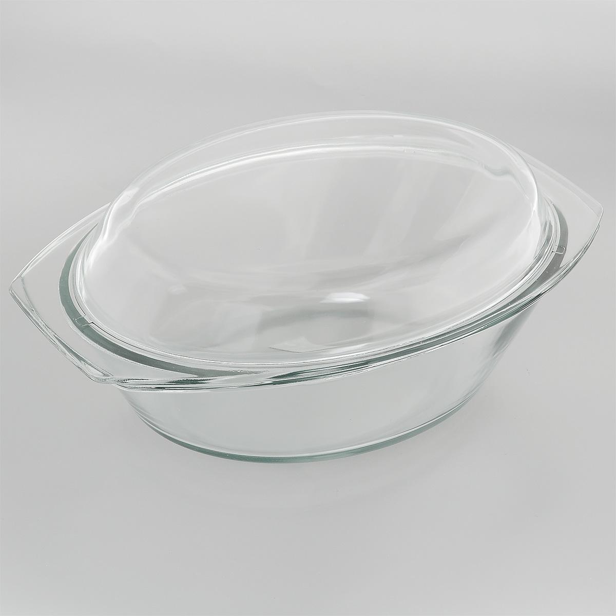Утятница Mijotex с крышкой, 3 лPL18Утятница Mijotex выполнена из жаропрочного стекла. Форма не вступает в реакцию с готовящейся пищей, а потому не выделяет никаких вредных веществ, не подвергается воздействию кислот и солей. Стеклянная посуда очень удобна для приготовления и подачи самых разнообразных блюд. Стекло выдерживает температуру от - 40°C до +400°C. Благодаря прозрачности стекла, за едой можно наблюдать при ее приготовлении, еду можно видеть при подаче, хранении. Используя эту форму, вы можете, как приготовить пищу, так и изящно подать ее к столу, не меняя посуды. Крышка выполнена из стекла и может быть использована также отдельно для приготовления и подачи различных блюд. Форма может быть использована в духовке, микроволновой печи и морозильной камере. Можно мыть в посудомоечной машине. Размер утятницы: 34 см х 20,5 см х 9 см. Размер крышки: 35 см х 21 см х 4,5 см. Высота утятницы (с учетом крышки): 13 см.