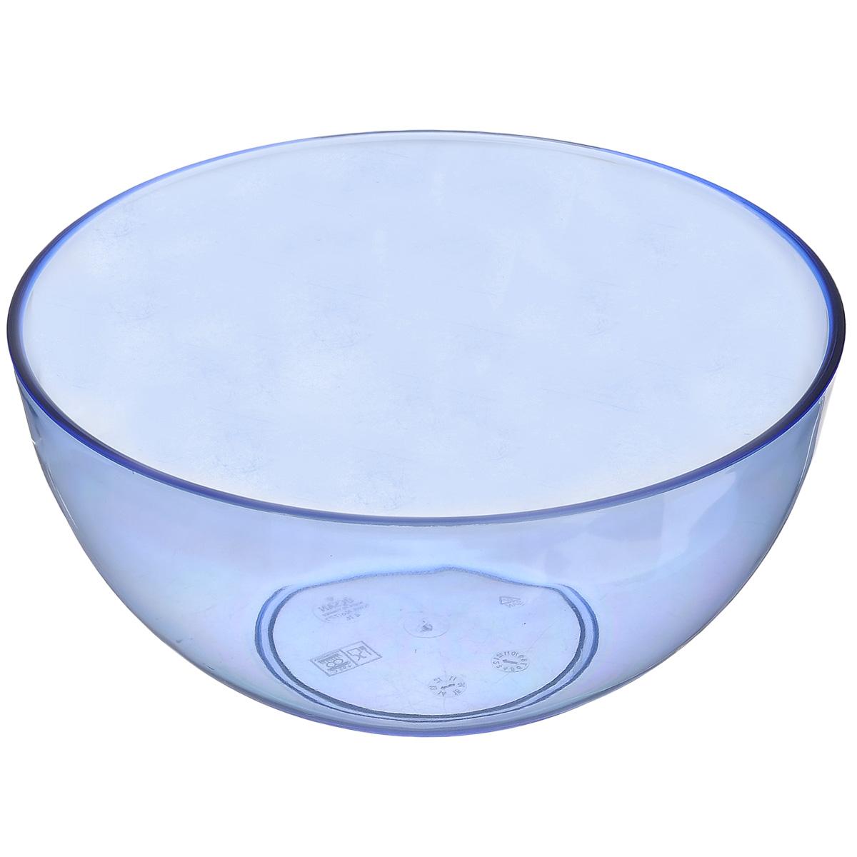Салатник Ucsan, цвет: синий, 4 лM-777Салатник Ucsan изготовлен из полипропилена и идеально подходит для сервировки стола. Салатник Ucsan не только украсит ваш кухонный стол и подчеркнет прекрасный вкус хозяйки, но и станет отличным подарком. Можно мыть в посудомоечной машине. Диаметр салатника: 24 см. Высота салатника: 12 см. Объем салатника: 4 л.