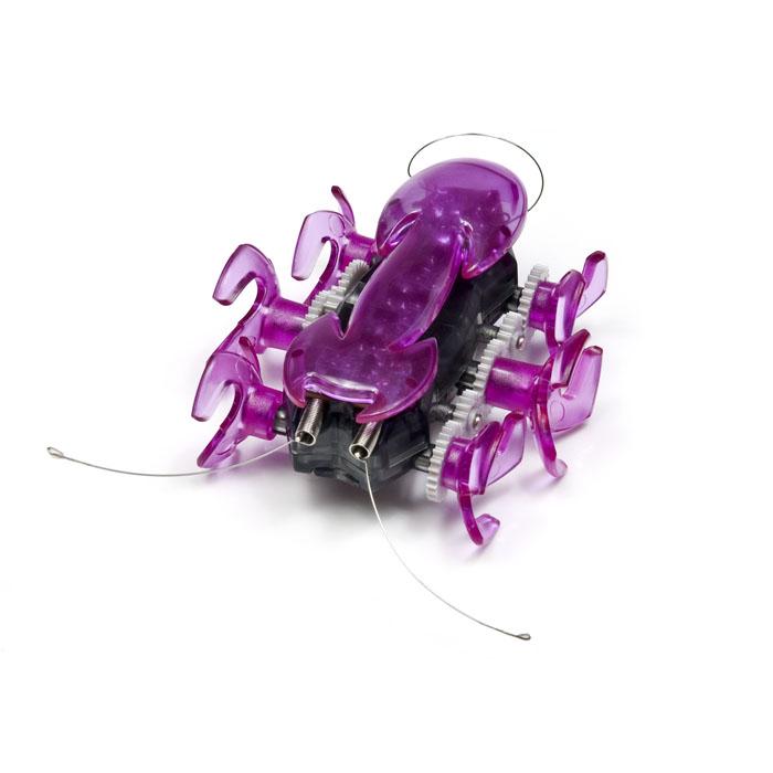 Микро-робот Hexbug Ant, цвет: фиолетовый401-1363_4Микро-робот Hexbug Ant - самый быстрый представитель роботов-жуков. Он бегают на своих 6 лапках, издавая забавный механический звук. В случае столкновения с препятствием, робот- муравей сразу же поменяет направление движения. Это происходит благодаря сенсорам, расположенным с обеих сторон микро-робота. Так как корпус микро-робота прозрачный, можно легко рассмотреть, что же происходит внутри игрушечного муравья во время его молниеносных движений. Но все-таки гораздо интереснее наблюдать, как он бегает! Для этого лучше всего выбрать твердую гладкую поверхность, чтобы быть уверенным, что лапки робота-муравья нигде не застрянут. Микро-робот Hexbug Ant - отличное приобретение для вас и вашего ребенка. Hexbug Ant работает от 2 батареек типа AG13 (входят в комплект). Гарантия: 15 дней.