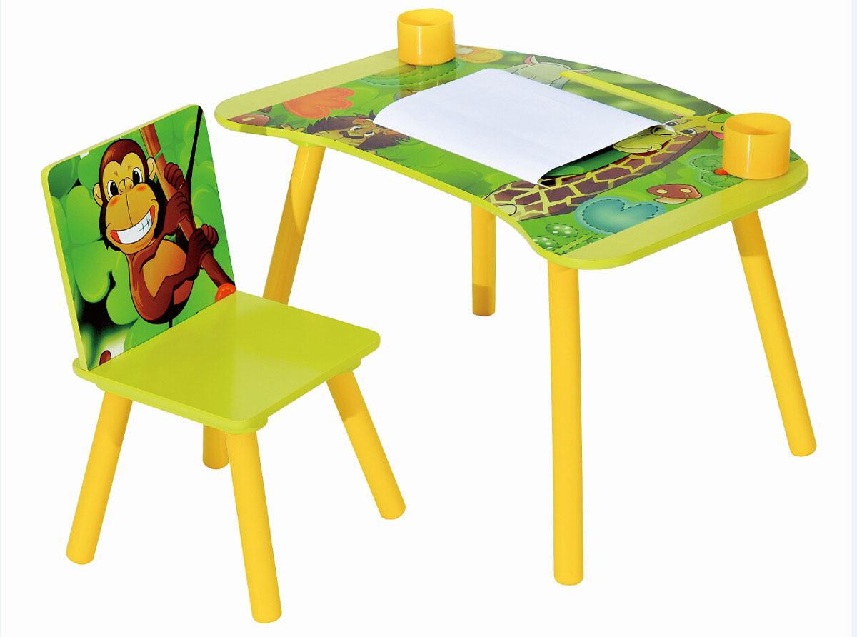 Набор детской мебели стол и стул Sweet Baby Genius Safari ( 265328 )