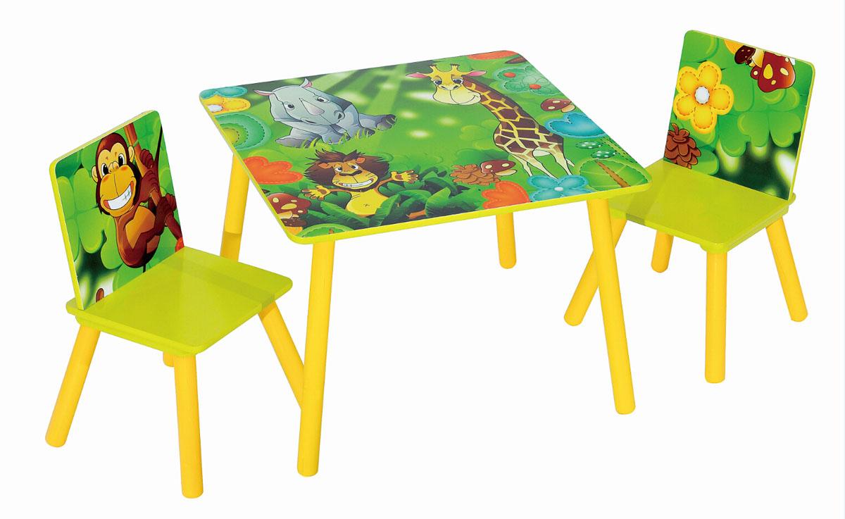 Набор детской мебели стол и стулья Sweet Baby Duo Safari ( 265333 )