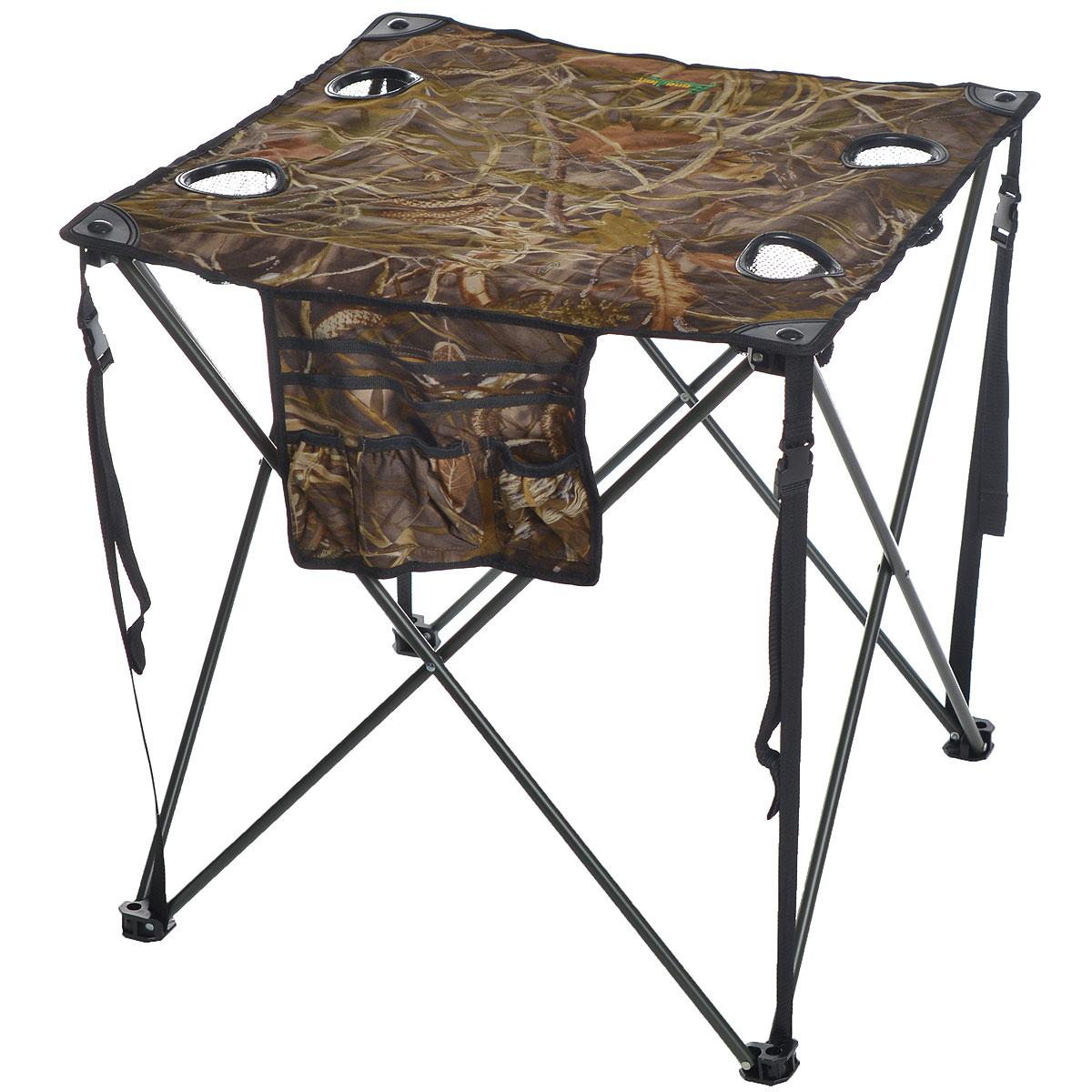 "Стол складной Canadian Camper ""CC-TA431"", 68 см х 68 см х 68 см"