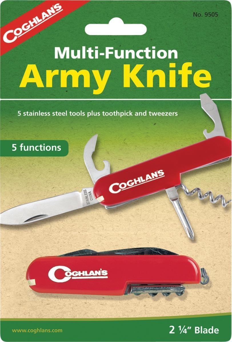 Многофункциональный туристический нож COGHLAN\'S (5 функций) ( 9505 )