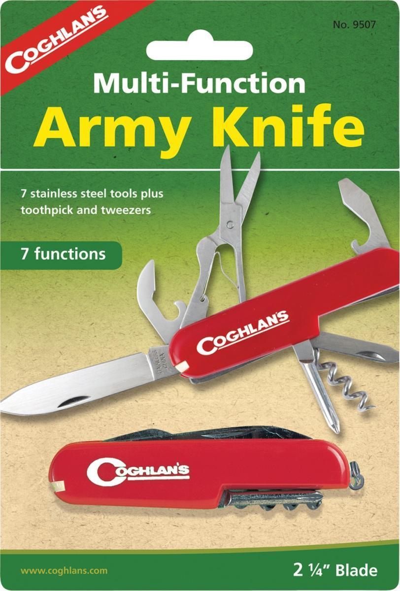 Многофункциональный туристический нож COGHLAN\'S (7 функций) ( 9507 )