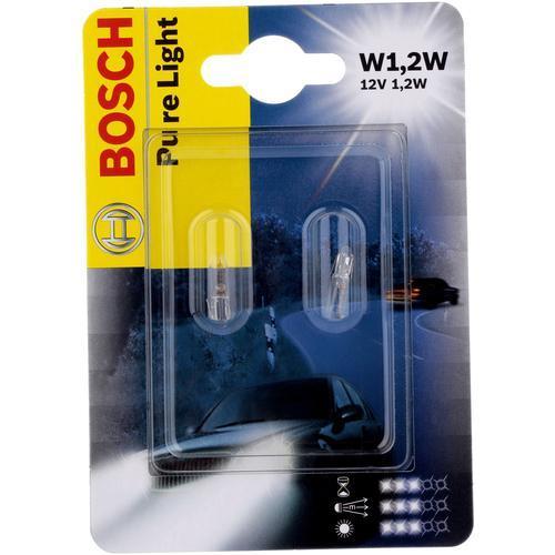 Лампа Bosch T5 W1.2W 12V 2шт 1987301024