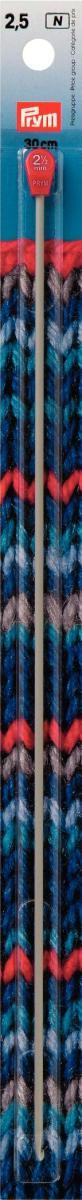 Крючок для тунисского вязания Prym, диаметр 2,5 мм, длина 30 см195214Крючок для тунисского вязания Prym - это длинный крючок с ограничителем на конце. Вязание тунисским крючком производится только по одной лицевой стороне и этим отличается от вязки обыкновенным крючком. Крючок для тунисского вязания длиннее обычного, поскольку на нем будут лежать все петли провязываемого ряда, которые потом закроют в обратном ряду. Техника тунисского вязания вовсе не сложная. Длинным крючком, так же как и коротким, можно вывязывать различные рисунки. Еще тунисским крючком хорошо вязать сумки и пояса. Размер тунисского крючка определяется диаметром стержня и подбирают его в зависимости от толщины пряжи с таким расчетом, чтобы крючок был примерно в 2 раза толще нитки. Работа, сделанная своими руками, долго будет радовать Вас и Ваших близких. А подарок, выполненный собственноручно, станет самым ценным для друзей и знакомых. Диаметр: 2,5 мм. Материал: алюминий.