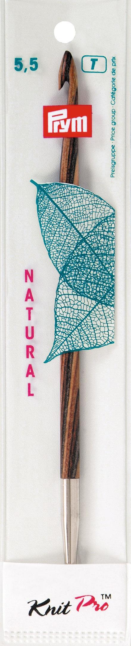 Крючок для тунисского вязания Prym Natural, съемный, диаметр 5,5 мм, длина 15 см223705Крючок Prym Natural изготовлен из дерева с металлическим наконечником. Он предназначен для тунисского вязания. Вязание тунисским крючком производится только по одной лицевой стороне и этим отличается от вязки обыкновенным крючком. Вы сможете вязать для себя и делать подарки друзьям. Рукоделие всегда считалось изысканным, благородным делом. Работа, сделанная своими руками, долго будет радовать вас и ваших близких. Подарок, выполненный собственноручно, станет самым ценным для друзей и знакомых. Диаметр: 5,5 мм. Длина: 15 см. Материал: дерево, металл.