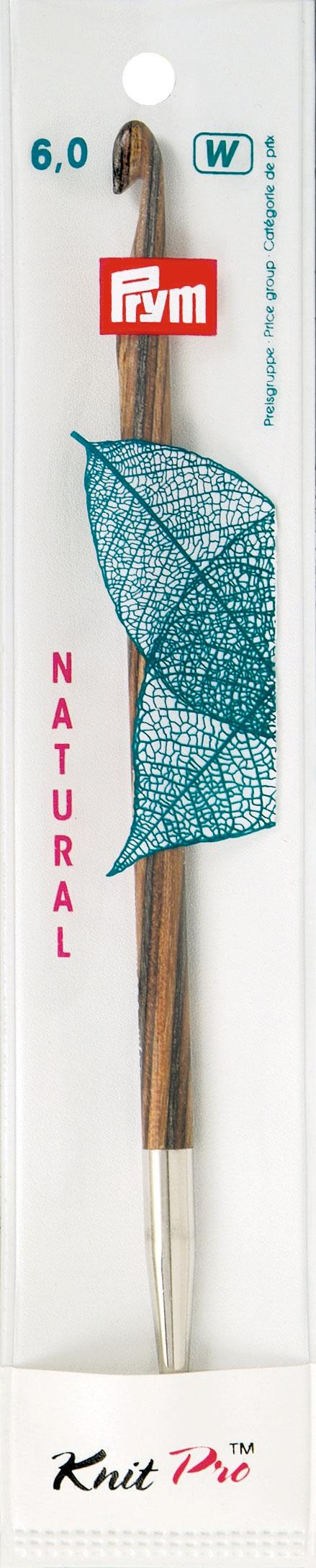 Крючок для тунисского вязания Prym Natural, съемный, диаметр 6 мм, длина 15 см223706Крючок Prym Natural изготовлен из дерева с металлическим наконечником. Он предназначен для тунисского вязания. Вязание тунисским крючком производится только по одной лицевой стороне и этим отличается от вязки обыкновенным крючком. Вы сможете вязать для себя и делать подарки друзьям. Рукоделие всегда считалось изысканным, благородным делом. Работа, сделанная своими руками, долго будет радовать вас и ваших близких. Подарок, выполненный собственноручно, станет самым ценным для друзей и знакомых. Диаметр: 6 мм. Длина: 15 см. Материал: дерево, металл.
