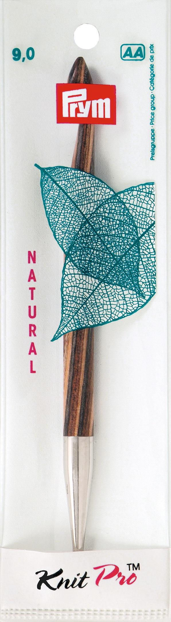 Крючок для тунисского вязания Prym Natural, съемный, диаметр 9 мм, длина 15 см223710Крючок Prym Natural изготовлен из дерева с металлическим наконечником. Он предназначен для тунисского вязания. Вязание тунисским крючком производится только по одной лицевой стороне и этим отличается от вязки обыкновенным крючком. Вы сможете вязать для себя и делать подарки друзьям. Рукоделие всегда считалось изысканным, благородным делом. Работа, сделанная своими руками, долго будет радовать вас и ваших близких. Подарок, выполненный собственноручно, станет самым ценным для друзей и знакомых. Диаметр: 9 мм. Длина: 15 см. Материал: дерево, металл.