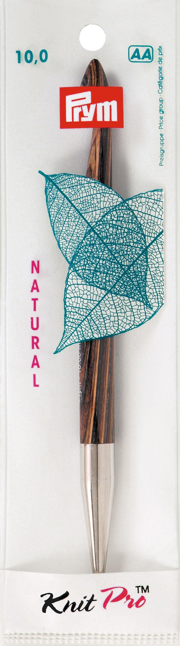 Крючок для тунисского вязания Prym Natural, съемный, диаметр 10 мм, длина 15 см223711Крючок Prym Natural изготовлен из дерева с металлическим наконечником. Он предназначен для тунисского вязания. Вязание тунисским крючком производится только по одной лицевой стороне и этим отличается от вязки обыкновенным крючком. Вы сможете вязать для себя и делать подарки друзьям. Рукоделие всегда считалось изысканным, благородным делом. Работа, сделанная своими руками, долго будет радовать вас и ваших близких. Подарок, выполненный собственноручно, станет самым ценным для друзей и знакомых. Диаметр: 10 мм. Длина: 15 см. Материал: дерево, металл.