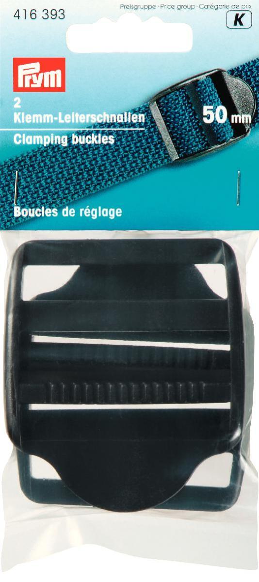 Пряжки регулировочные Prym, с фиксатором, цвет: черный, 50 мм, 2 шт416393Пластиковые регулировочные пряжки Prym предназначены для фиксации и регулирования по длине ремня. Пряжка Prym надежно зафиксирует любой ремень шириной 5 см. Размер пряжки: 6 см х 7 см.