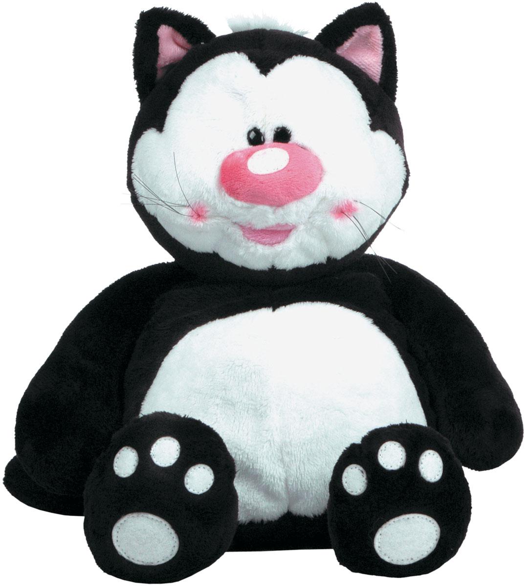 Gulliver Мягкая игрушка Кот Котя 38 см7-42810Мягкая игрушка Gulliver Кот Котя - очаровательный и забавный, которого так и хочется взять на руки и погладить. Он обязательно станет верным другом в первых играх малыша и прекрасным украшением его комнаты. Котенок вызывет у окружающих искренние улыбки и позитивные эмоции, чем положительно влияет на детскую психику. Играя с плюшевым Котей, малыш развивает свое воображение, память и логику. Пластиковые гранулы, используемые при набивке игрушки, способствуют развитию мелкой моторики рук ребенка. А контрастная расцветка игрушки хорошо влияет на зрение ребенка.
