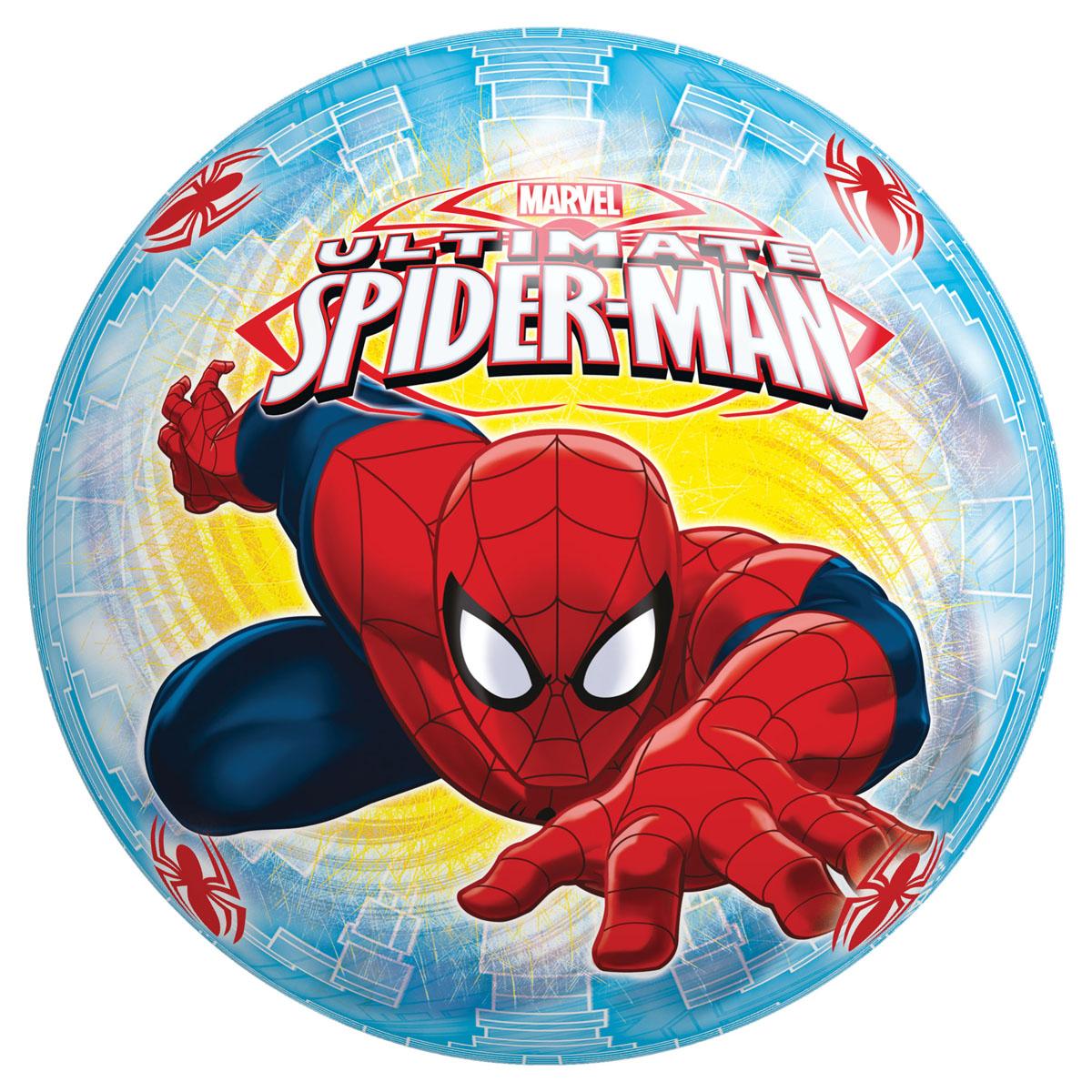 Мяч John Человек-Паук, 23 см54307\50307WDЯркий детский мяч John Человек-Паук - это игрушка для детей любого возраста. Он выполнен из ПВХ и оформлен ярким рисунком. Мяч незаменим для любителей подвижных игр и активного отдыха, подходит для игр на воде. Игры с мячом развивают координацию движений, способствуют физическому развитию ребенка.