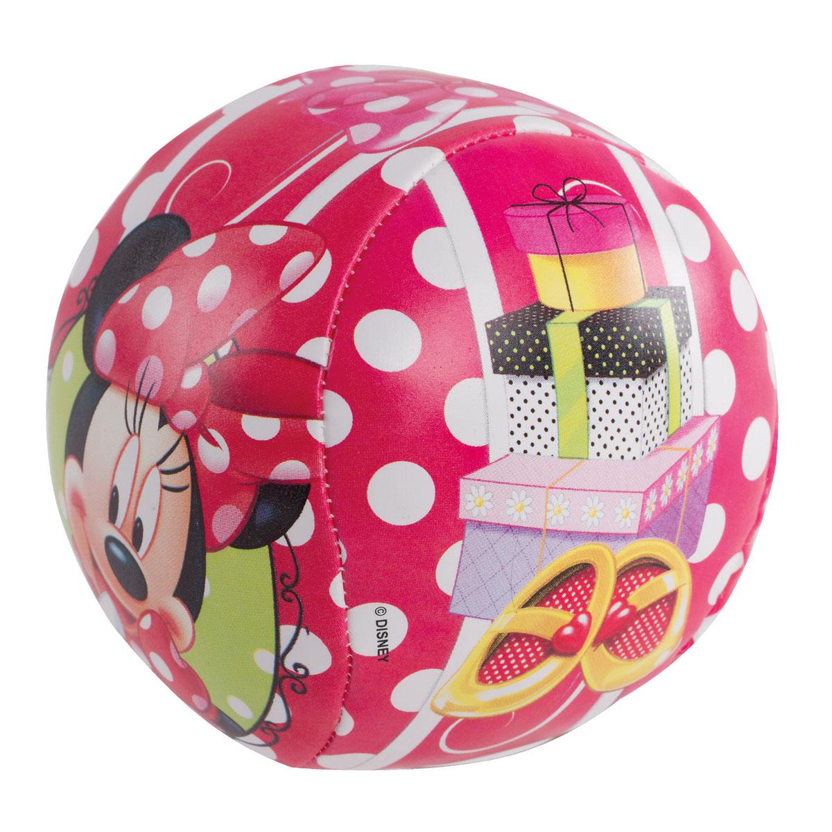 Мяч мягкий John Минни, 10 см52863WDМягкий мяч John Минни - это игрушка для детей любого возраста. Он выполнен из полиуретана с мягкой набивкой и оформлен ярким рисунком. Мягкий мяч незаменим для любителей подвижных игр и активного отдыха и абсолютно безопасен. Игры с мячом развивают координацию движений, способствуют физическому развитию ребенка.