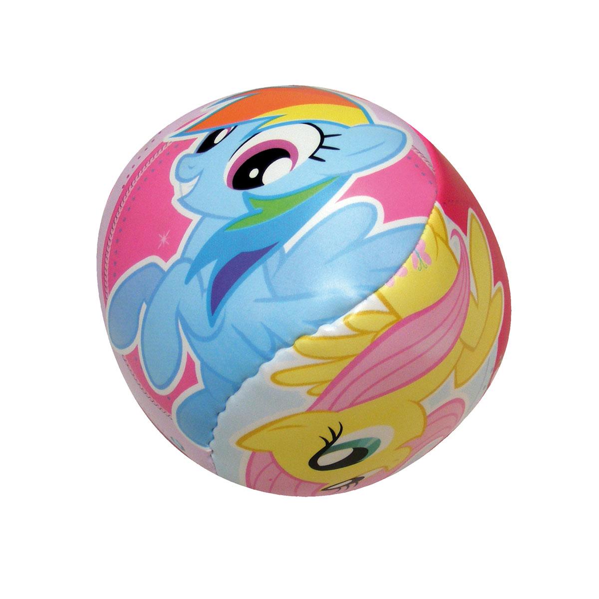 Мяч мягкий John Мой маленький пони, 10 см52802Мягкий мяч John Мой маленький пони - это игрушка для детей любого возраста. Он выполнен из полиуретана с мягкой набивкой и оформлен ярким рисунком. Мягкий мяч незаменим для любителей подвижных игр и активного отдыха и абсолютно безопасен. Игры с мячом развивают координацию движений, способствуют физическому развитию ребенка.