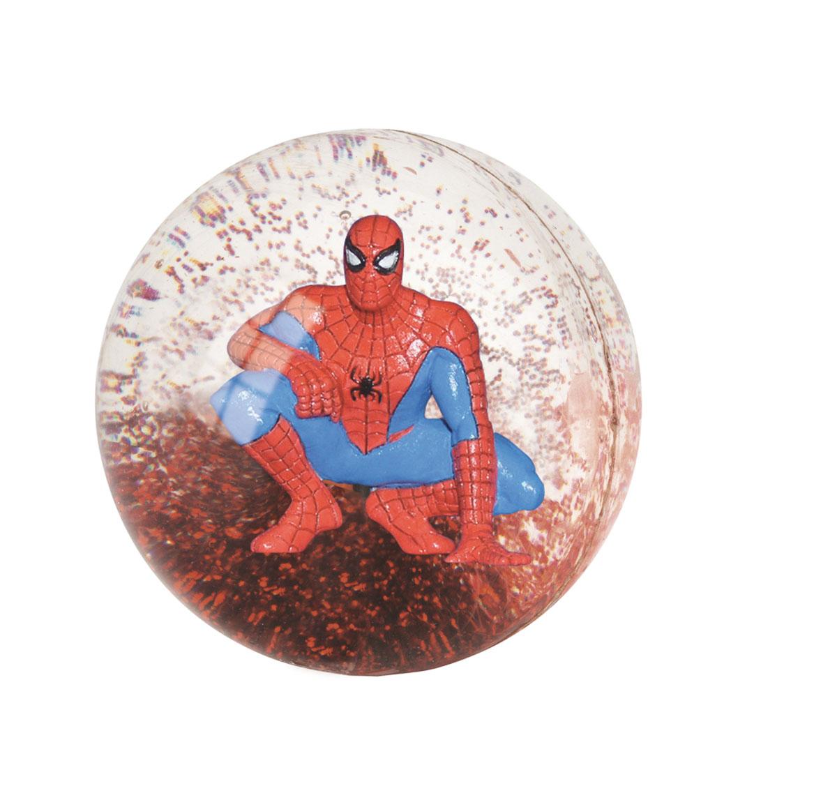 Мяч-попрыгун 3D John Человек-Паук, 5,5 см52339WDДетский прозрачный 3D мяч-попрыгун John Человек-Паук - это игрушка для детей любого возраста. Он выполнен из каучука с фигуркой Человека-Паука и блестками внутри. При ударе об пол мяч высоко отпрыгивает, что непременно понравится вашему ребенку. Мяч незаменим для любителей подвижных игр и активного отдыха и абсолютно безопасен. Игры с мячом развивают координацию движений, способствуют физическому развитию ребенка.