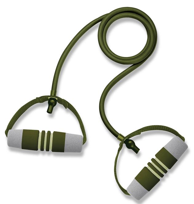 Эспандер трубчатый Ecowellness с мягкими ручками, цвет: зеленый, длина 122 смQB-2010FN-BТрубчатый эспандер Ecowellness прост в использовании и идеально подходит для аэробных тренировок, для поддержания мышц рук и груди в тонусе. Способствует развитию гибкости. Длина эспандера 122 см. Отличный подарок для любителей фитнеса.
