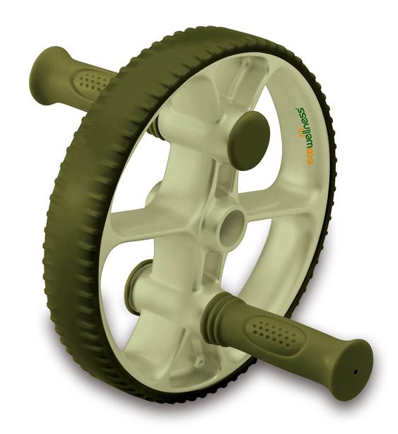 Ролик для пресса Ecowellness, со сменными ручками, цвет: зеленый, диаметр 22,5 смQB-704EN-BЭтот прочный ролик для пресса изготовлен из термопластичной резины и идеально подходит для тренировки мышц нижней части живота, при этом так же тренируются мышцы пресса, спины, рук и плеч. Сменные рукоятки позволяют делать как простые, так и более сложные упражнения. Ролик имеет увеличенный диаметр - 22,5 см.