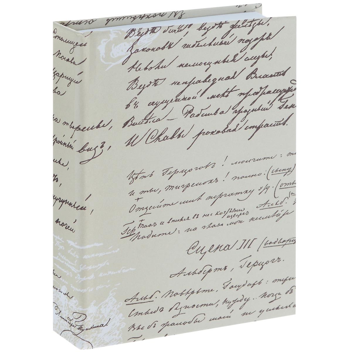 Блокнот Власта Артбук. Пушкин, 7,5 см х 10 см, 150 листов12-05/ГПБлокнот Власта Артбук. Пушкин с отрывными листами предназначен для набросков и записей. Жесткая картонная обложка украшена изображением рукописей А. С. Пушкина. Блок содержит 150 белых листов без разметок размера 7,5 см х 10 см с логотипом Artbook. Такой блокнот удобен тем, что может легко умещаться в дамской сумочке и в барсетке. Жесткая (книжная) обложка предохраняет листы от порчи и замятия. Общий размер блокнота: 8 см х 10,5 см. Количество листов: 150. Размер листов: 7,5 см х 10 см.