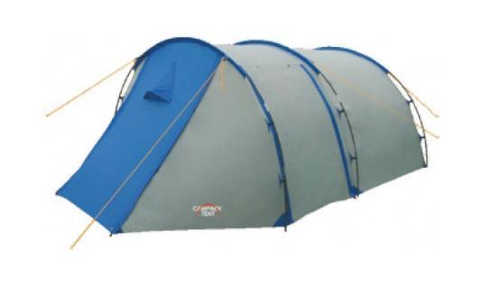 Палатка туристическая CAMPACK-TENT Field Explorer 3 (2013) (серый/голубой) арт.00376370037637Палатка Campack Tent Field Explorer 3 - это лассическая «полубочка». Палатка для несложных походов и семейного отдыха на природе рассчитана на использование при положительных температурах. Высокопрочное дно изготовлено из армированного полиэтилена, не пропускает влагу и устойчиво к истиранию. Палатка Campack Tent Field Explorer 3 оснащена увеличенными вентиляционными окнами, клапаном от косого дождя и двухслойной дверью с цветными молниями. Каркас, изготовленный из фибергласса, обеспечивает надежность и устойчивость, а внешнее крепление дуг значительно облегчает установку палатки. Внутри палатки имеется подвеска для фонаря и карманы для хранения мелочей. У палатки Campack Tent Field Explorer 3 три раздельных входа. Характерная особенность - это огромный тамбур, где можно спрятать от непогоды снаряжение и вещи всех обитателей палатки, а при необходимости - использовать его как место для приготовления пищи. В этом году мы уделили повышенное внимание...