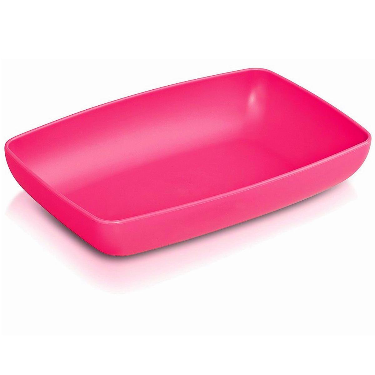 Тарелка глубокая Ucsan, цвет: розовый, 18 х 12 смM-712Прямоугольная глубокая тарелка Ucsan, изготовленная из высококачественного полипропилена, идеально подходит для сервировки стола. Тарелка Ucsan не только украсит ваш кухонный стол и подчеркнет прекрасный вкус хозяйки, но и станет отличным подарком.