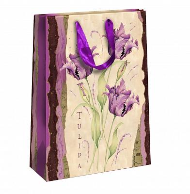 Пакет подарочный Правила Успеха Лиловые мечты, 25 х 35 х 9 см4610009211640Подарочный пакет Правила Успеха Лиловые мечты, изготовленный из плотной бумаги, станет незаменимым дополнением к выбранному подарку. Изделие украшено блестками. Дно укреплено плотным картоном, который позволяет сохранить форму пакета и исключает возможность деформации дна под тяжестью подарка. Для удобной переноски на пакете имеются две ручки из ткани. Подарок, преподнесенный в оригинальной упаковке, всегда будет самым эффектным и запоминающимся. Окружите близких людей вниманием и заботой, вручив презент в нарядном, праздничном оформлении.