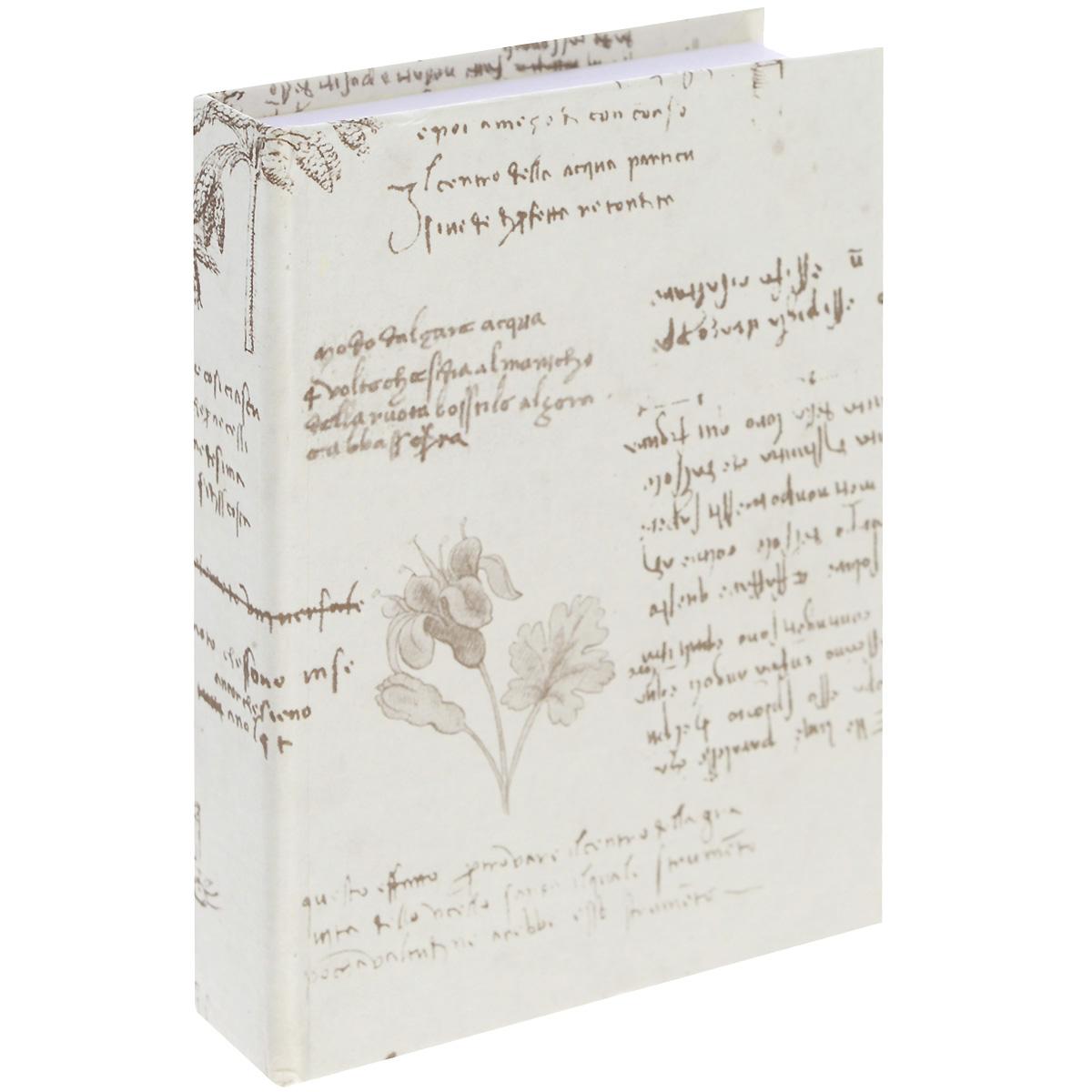 Блокнот Власта Артбук. Леонардо, 7,5 х 10 см, 150 листов12-12/ГПБлокнот Власта Артбук. Леонардо с отрывными листами предназначен для набросков и записей. Жесткая картонная обложка украшена рукописями и различными зарисовками. Блок содержит 150 белых листов без разметок размера 7,5 х 10 см с логотипом Artbook. Такой блокнот удобен тем, что может легко умещаться в дамской сумочке и в барсетке. Жесткая (книжная) обложка предохраняет листы от порчи и замятия. Общий размер блокнота: 8 х 10,5 см. Количество листов: 150. Размер листов: 7,5 х 10 см.